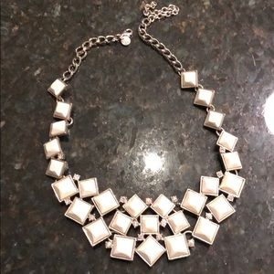 White necklace from Loft